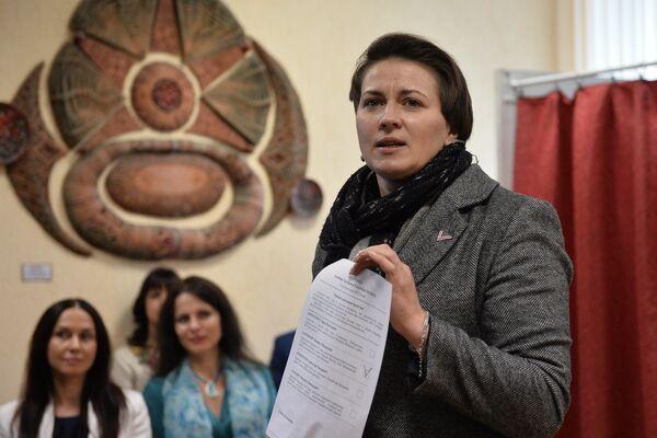 Кандидат в президенты Республики Беларусь Татьяна Короткевич - Sputnik Беларусь