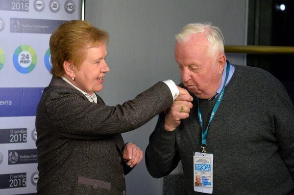 Граф Александр Прушинский и Лидия Ермошина - Sputnik Беларусь