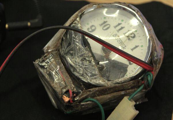 Части самодельных взрывных устройств и компоненты для их изготовления. Архивное фото - Sputnik Беларусь