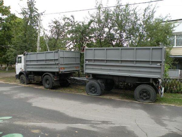 Поврежденный автомобиль - Sputnik Беларусь