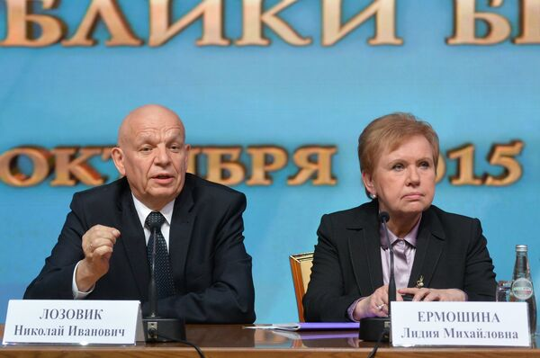 Пресс-конференция председателя ЦИК Беларуси Лидии Ермошиной - Sputnik Беларусь