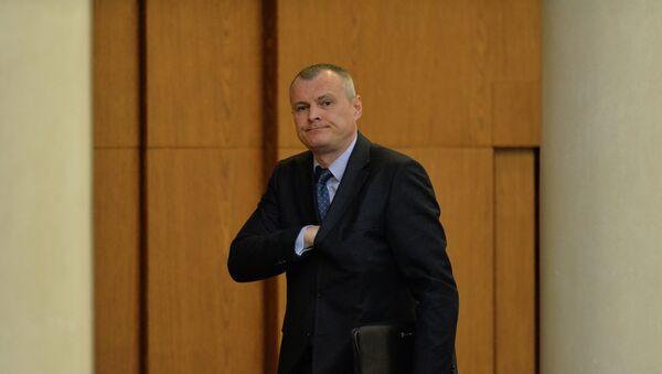 Глава МВД Игорь Шуневич в парламенте - Sputnik Беларусь