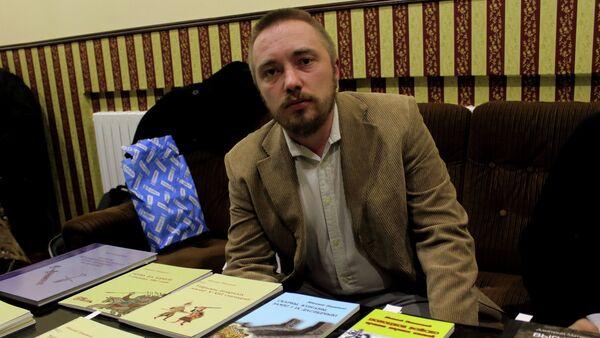 Мікалай Плавінскі, аўтар кнігі Бітва на Нямізе - Sputnik Беларусь