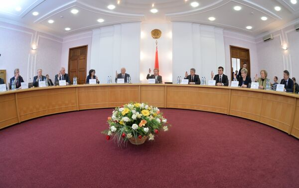 Заседание ЦИК 16 октября - Sputnik Беларусь