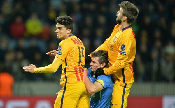 Лига чемпионов УЕФА по футболу: БАТЭ-Барселона - Sputnik Беларусь
