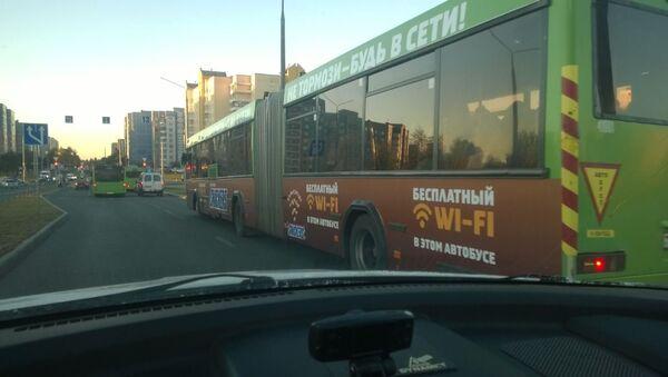 Автобус с бесплатным Wi-Fi - Sputnik Беларусь