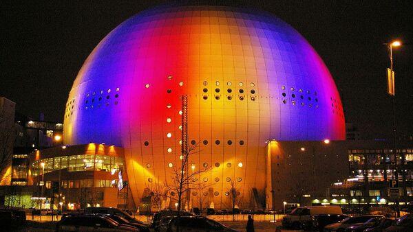 Сцэна Ericsson Globe, дзе пройдзе Еўрабачанне-2016 - Sputnik Беларусь