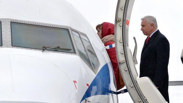 Генеральный директор Национальной авиакомпании Белавиа Анатолий Гусаров - Sputnik Беларусь