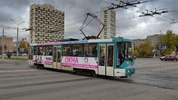 Трамвай у Мінску, архіўнае фота - Sputnik Беларусь