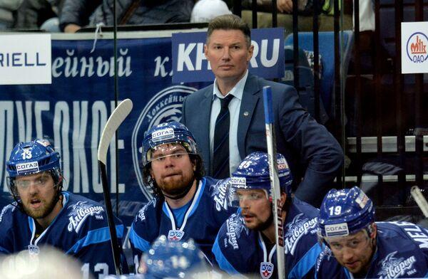 И.о. главного тренера ХК Динамо-Минск Андрей Ковалев - Sputnik Беларусь