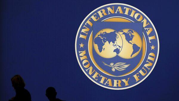 Лагатып МВФ - Sputnik Беларусь
