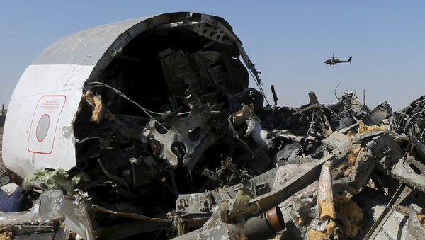 Обломки самолета А321 авиакомпании Когалымавиа в Египте - Sputnik Беларусь