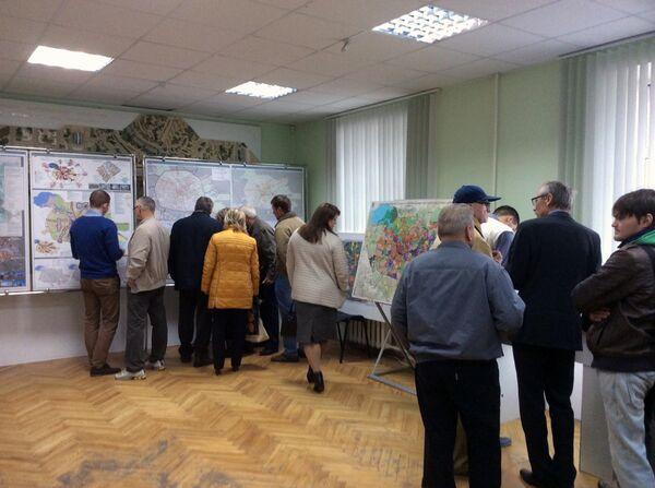В последний день общественного обсуждения генерального плана развития Минска - Sputnik Беларусь