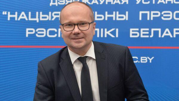 Заместитель председателя Правления Национального банка Беларуси Дмитрий Лапко - Sputnik Беларусь