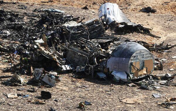 Место крушения российского самолета Airbus A321 в Египте - Sputnik Беларусь