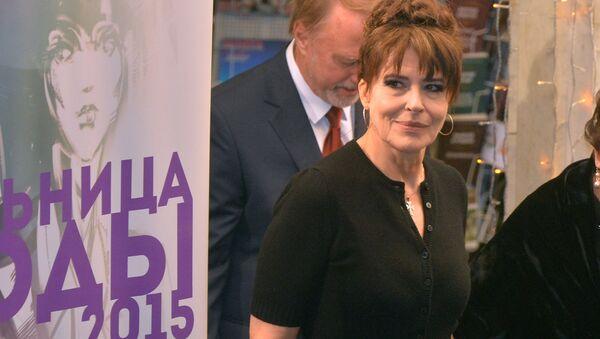 Французская киноактриса Фанни Ардан на кинофестивале Лiстапад - Sputnik Беларусь