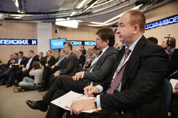 Форум европейских и азиатских медиа 2015 - Sputnik Беларусь