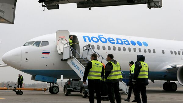 Самолет авиакомпании Победа, архивное фото - Sputnik Беларусь