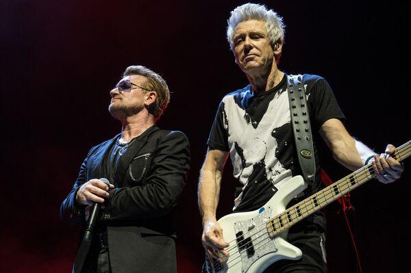 Музыканты группы U2 - Sputnik Беларусь
