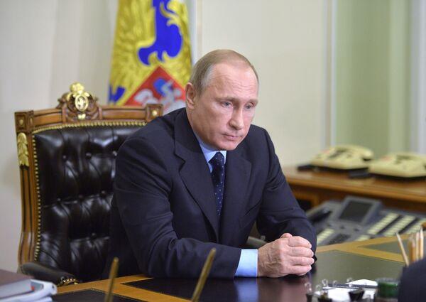 Президент России Владдимир Путин - Sputnik Беларусь