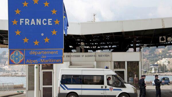 Французска-італьянскае памежжа - Sputnik Беларусь