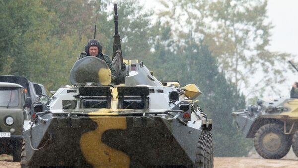 Учения вооруженных сил Запад-2013 - Sputnik Беларусь
