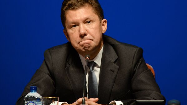 Председатель правления ОАО Газпром Алексей Миллер - Sputnik Беларусь
