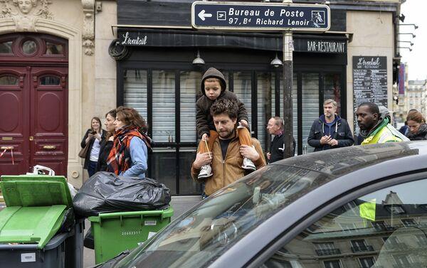 Ситуация в Париже после серии терактов - Sputnik Беларусь
