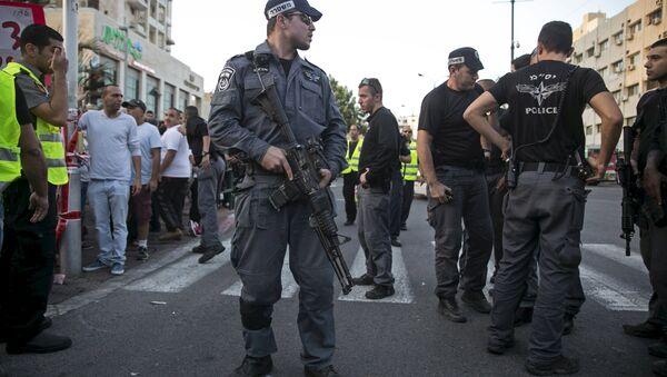 Израильская полиция в Тель-Авиве - Sputnik Беларусь