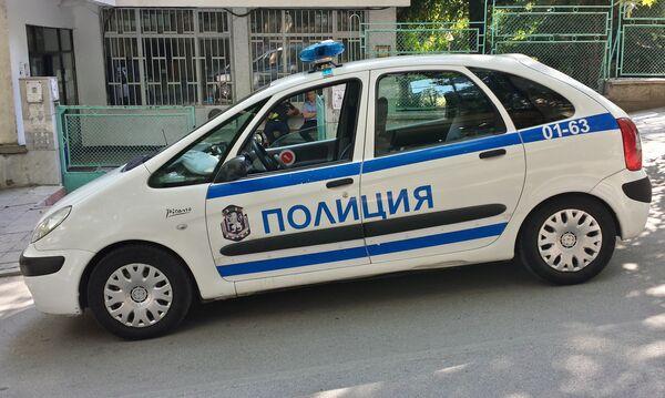 Машина софийской полиции - Sputnik Беларусь