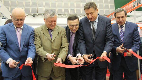 Открытие выставки EXPO-RUSSIA BELARUS 2015 - Sputnik Беларусь