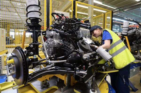 Производство автомобилей - Sputnik Беларусь