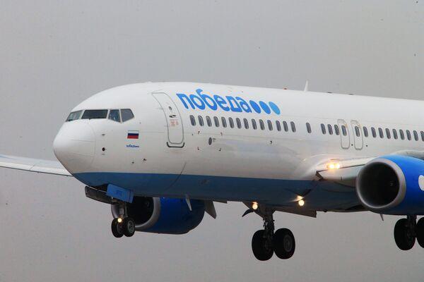 Самолет российской низкобюджетной авиакомпании Победа - Sputnik Беларусь