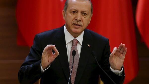 Президент Турции Тайип Эрдоган - Sputnik Беларусь