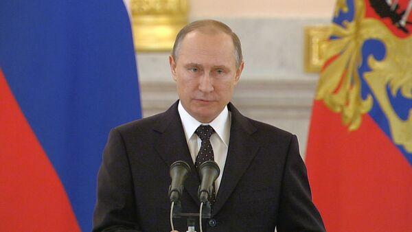 СПУТНИК_Путин предъявил претензии к Турции и сказал, чего ждет РФ за сбитый Су-24 - Sputnik Беларусь