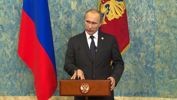 СПУТНИК_Это огромная ошибка – Путин о решении Турции сбить российский Су-24 в Сирии - Sputnik Беларусь