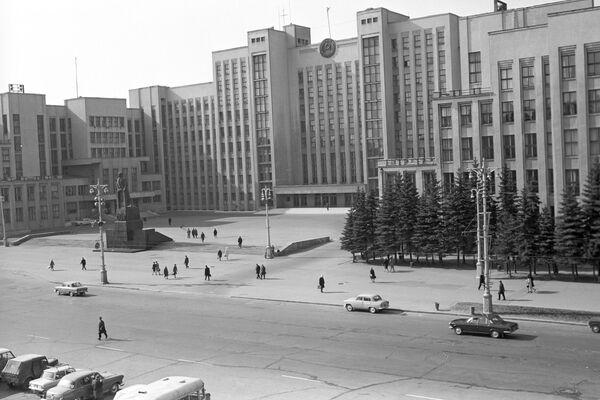 Здание Дома Правительства БССР - Sputnik Беларусь