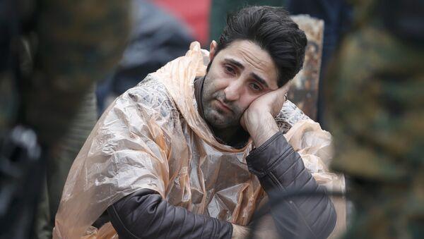 Мигрант из Сирии в Европе - Sputnik Беларусь
