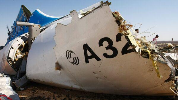 Месца крушэння самалета Airbus A321 у Егіпце - Sputnik Беларусь