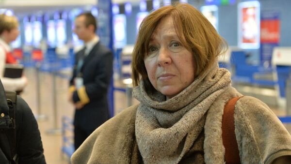 Нобелевский лауреат по литературе 2015 года Светлана Алексиевич - Sputnik Беларусь