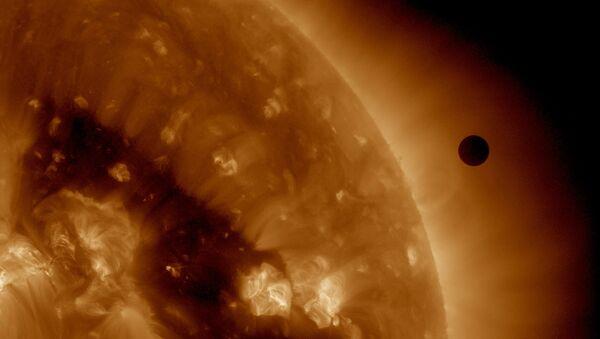 Венера на фоне Солнца - Sputnik Беларусь