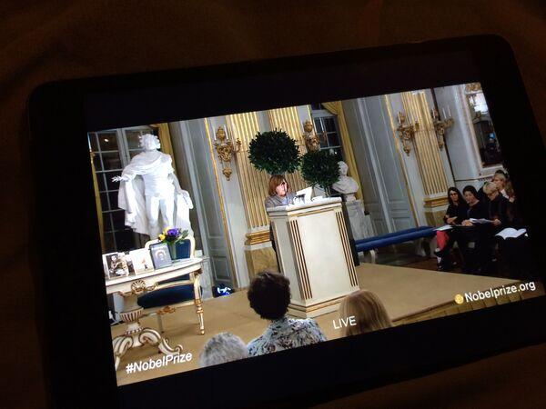 Выступление Светланы Алексиевич в Стокгольме - Sputnik Беларусь