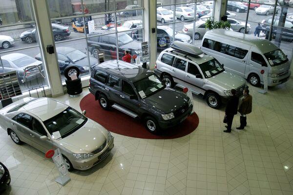 Салон по продаже японских автомобилей - Sputnik Беларусь