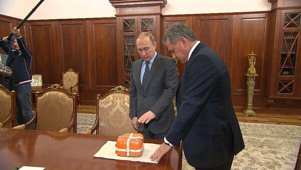 СПУТНИК_Шойгу показал Путину черный ящик сбитого Турцией российского Су-24 - Sputnik Беларусь