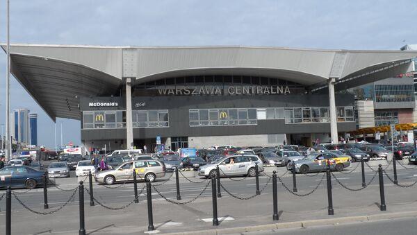 Цэнтральны вакзал у Варшаве - Sputnik Беларусь