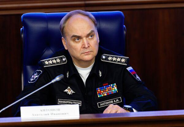 Заместитель министра обороны Российской Федерации Анатолий Антонов - Sputnik Беларусь