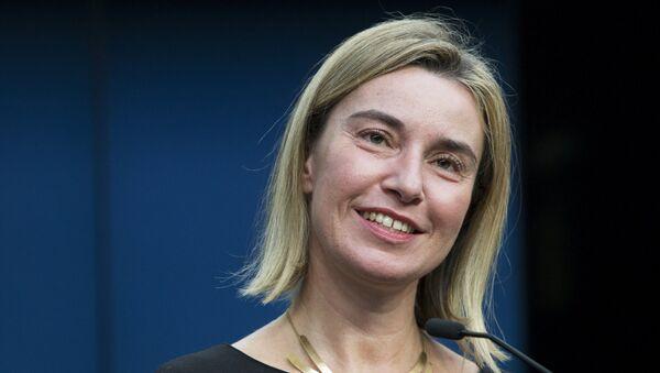 Глава дипломатии ЕС Федерика Могерини - Sputnik Беларусь