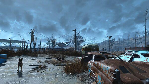 Кадр из игры Fallout 4 - Sputnik Беларусь