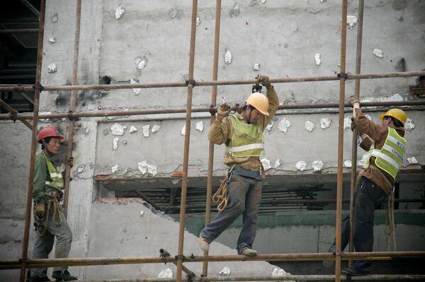 Китайские рабочие - Sputnik Беларусь