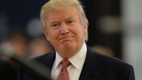 Американский миллиардер и телеведущий Дональд Трамп - Sputnik Беларусь